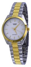 Casio MTP1274SG-7A Men's Standard Analog Two Tone White Dial Dress Watch