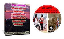 War Images Photos World War 1 2, Vietnam, Korean, Falkland, Crimean, Boer DVD