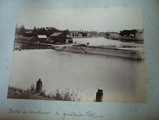 PHOTO ORIGINALE 1888  SUITE ET COMPLEMENT DU PRECEDENT MELUN