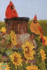 Cross Stitch Kit ~ Plaid-Bucilla Cardinal Birds & Sunflowers #45948