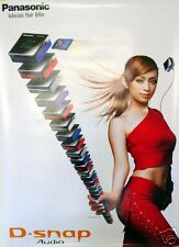 Hamasaki Ayumi Panasonic D-Snap Promo Poster B1 Rare