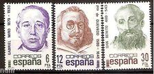 Spain  Edifil # 2618/2620 ** MNH Set Centenarios / Famous people