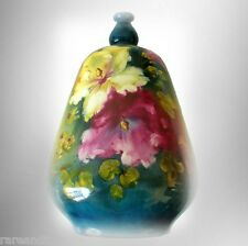 Royal Bonn art pottery vase with hand painted flowers FREE SHIPPING