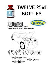 Leak Detection UV Dye For Fuel Oil Petrol Diesel Fluid Leak Ring RLD4 12 PACK
