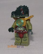 Lego Cragger from set 70126 Crocodile Legend Beast Legends of Chima NEW loc051