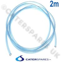 DISHWASHER CHEMICAL RINSE AID PUMP BLUE PVC SUPPLY HOSE PIPE 2M LONG 4X6MM