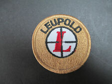 Vintage Leupold Embroidered Original Cloth Patch