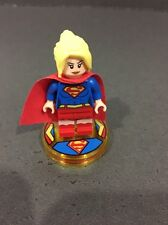 Lego Dimensions Supergirl Figure And Base.