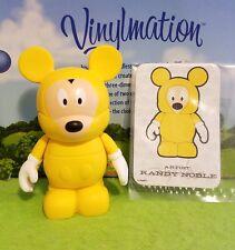 """Disney Vinylmation 3"""" Park Set 2 Yellow Rain Poncho Mickey Mouse"""