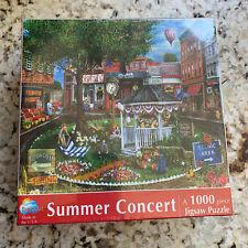 SunsOut Summer Concert 1000 Pc Puzzle Downtown Memories History USA Eco Friendly
