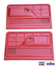 Red Door Panels Molded Plastic for Ford Bronco F100 F150 F250 F350 Truck USA