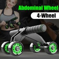 Abdominal Muscle Wheel Waist Arm Exercise Gym Fitness Roller Healthy Lose Weight