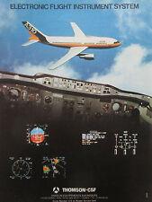 11/81 PUB THOMSON CSF AVIONIC AIRBUS A310 ELECTRONIC FLIGHT INSTRUMENT SYSTEM AD