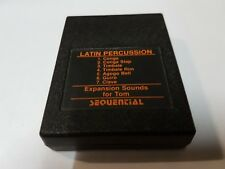 SEQUENTIAL CIRCUITS TOM LATIN PERCUSSION SOUND EXPANSION CARTRIDGE