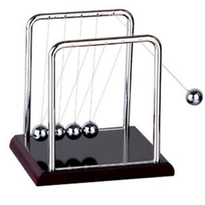Newtons Cradle Light Up Pendulum Physics Gifts Balance Ball Science Games Toys
