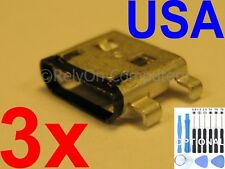 3x Micro USB Charging Port Sync For Acer Iconia One 10 B3-A30 A6003 Tablet USA
