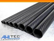 Carbon Rohr Ø 25mm / Sichtcarbon CFK Kohlefaser Tube 3K Köper / Länge wählbar