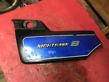 1985 Honda CB700 SC Nighthawk S Left Side Cover  CL 700  1984 1986