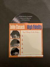 High Fidelity Movie Film Promotional White Board John Cusack Memorabilia