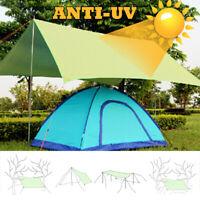 210*300cm Waterproof Tent Tarp Awning Sun Shade Rain Shelter Camping Mat