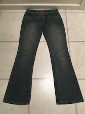 ESPRIT 8-10 Lds BOOTLEG FLARE Distressed Fade Effect Denim Jeans