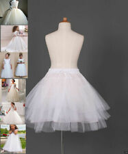 Flower Girl dress Children Underskirt Kid Wedding Crinoline Petticoat 35cm