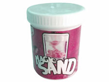 MAGIC SAND RED 225 GRAMS TUB MOULD UNDER WATER REPELS WATER NOVELTY TOY KIDS