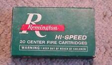 Remington Kleanbore 30-06 Springfield Hi-Speed 180Gr Bronze Point Empty Box