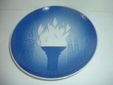 Bing & Grondahl Olympiade Olympics 1972 Munich Plate