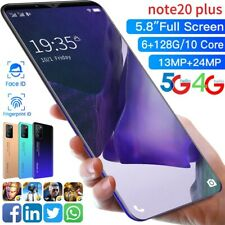 5.8 Cubot NOTE 20 Plus 4G Handy 6GB+128GB Smartphone Android 10 NFC 4800mAh
