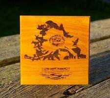 Santaland RV Park The Great Alaskan Bowl Company Wood Laser Etched Coaster Tile