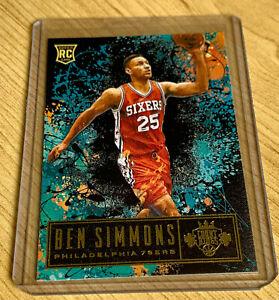 Ben Simmons 2016-17 Panini Court Kings Philadelphia 76ers Rookie card