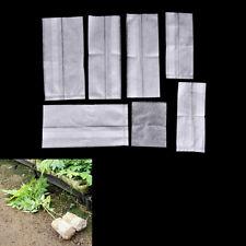 100x plants élever sacs plantes poche fibre pépinière pots de jardin fournitures