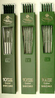 2 mm FABER CASTELL 30 LEADS 9181/ 263 GREEN in 3 TUBES and 125 mm long  !