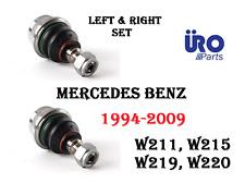 MERCEDES W211 W215 W219 W220 W230 Front Lower Control Arm Ball Joint SET URO
