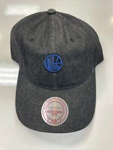 Mitchell and Ness NBA Golden State Warriors Team Snapback Hat, Cap, New