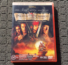 PIRATES OF THE CARIBBEAN: CURSE OF THE BLACK PEARL Pirate Action DVD Movie (R4)