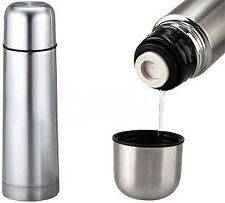 Termo acero inoxidable 1000 ml agua caliente 1 litro cafe te leche biberon