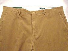 Bobby Jones Cotton Blend Corduroy Pants NWT 40 x 32  $145 Camel Tan