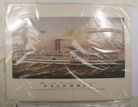 USPS prints Your ships have come in Steamboats Currier Ives mint unopened