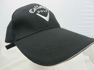 Callaway Golf baseball Hat Cap adjustable buckle black