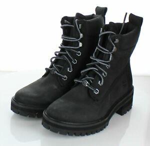 20-70  $160 Women's Sz 6.5 M Timberland Courmayeur Vally 6 In Boots In Black