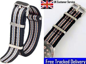 No Time To Die Watch James Bond Watch Strap Striped Daniel Craig Spectre 007
