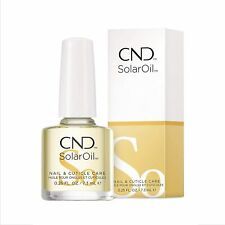 Cnd Essentials Solar Oil Nail Cuticle Conditioner Treatment .5 oz New Bottle