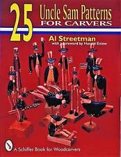 NEW 25 Uncle Sam Patterns by Al Streetman