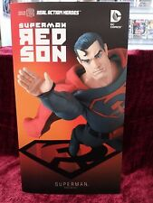 "Medicom DC Red Son Superman 1/6 Scale 12"" Figure - Real Action Heroes Brand New"