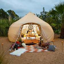 Boutique Camping Tents 4m Luna Bell Tent - Sandstone