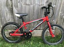"Apex 18/"" Wheel Kids Childs Childrens Boys Bike Lightweight Alloy Silver Age 6+"