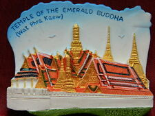 Wat Phra Kaew Emerald Phrakaew Temple Bangkok Thai Thailand 3D Fridge Magnet
