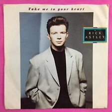 Rick Astley - Take Me To Your Heart - RCA PB-42573 VG Condition